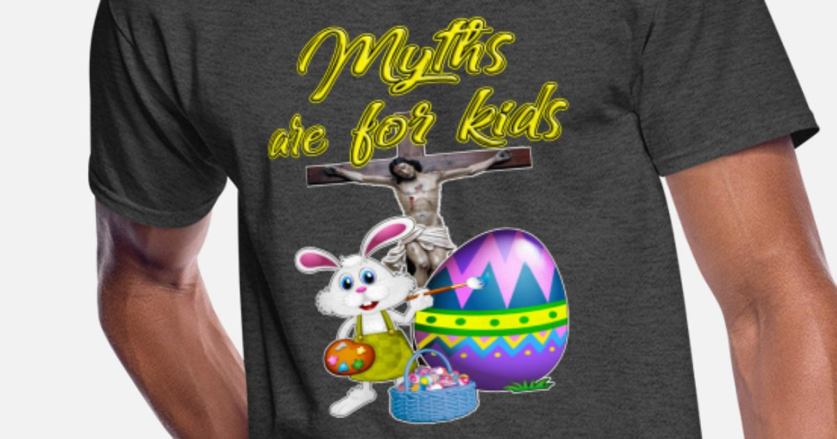 ba1bdceab Myths Are For Kids Men's 50/50 T-Shirt | Spreadshirt