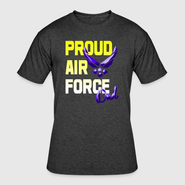 Proud Air Force Dad - Men's 50/50 T-Shirt