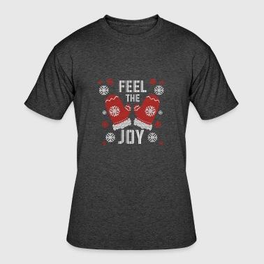 uglyxmas holiday ugly christmas sweater feel the joy gift mens 5050 t - Feel The Joy Christmas Sweater