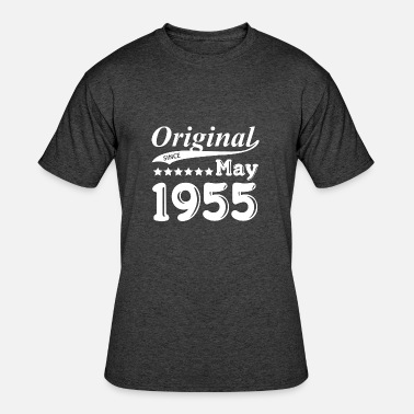 May 1955 Original Since May 1955 Gift - Men's 50/50 T-Shirt