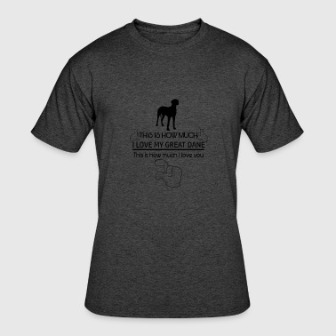 Great Dane Gear Cool Great Dane Designs - Men's 50/50 T-Shirt