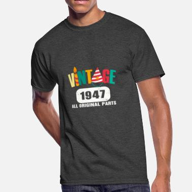 Vintage 1947 All Original Parts Vintage 1947 All Original Parts - Men's 50/50 T-Shirt