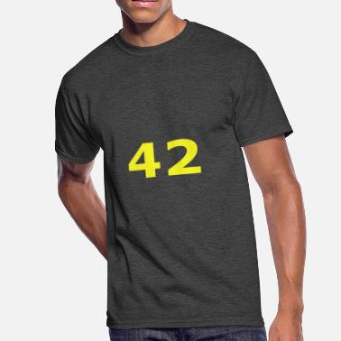 Everything 42 42 Ultimate ? of Life, the Universe and Everything - Men's 50/50 T-Shirt
