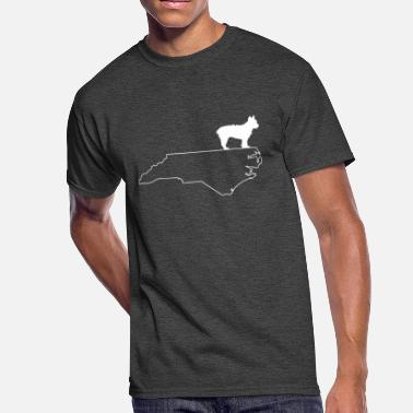 North Yorkshire Yorkie Yorkshire Terrier North Carolina Dog Shirt - Men's 50/50 T-Shirt