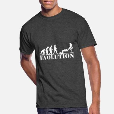 Heel Slave evolution submissive BDSM dirty - Men's 50/50 T-Shirt