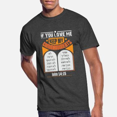 New Testament Judah Hebrew New Testament Messianic - Men's 50/50 T-Shirt