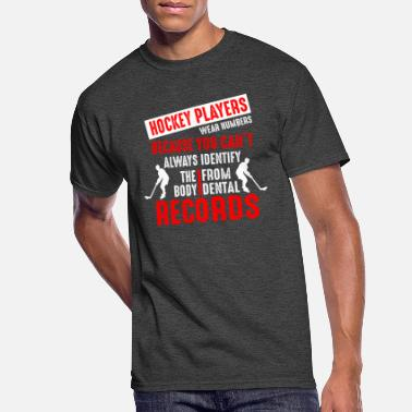 I Love Hockey Ice Hockey Dentist Quote Gift I Funny Hockey - Men's 50/50 T-Shirt