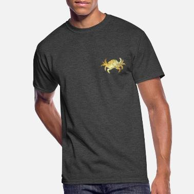 Gold Beach A Crab for Seafood Lovers (Golden-Yellow) - Men's 50/50 T-Shirt
