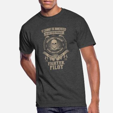 Temple Fighter pilot-I own it forever the title t-shirt - Men's 50/50 T-Shirt