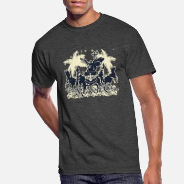 Kingdom Thy Kingdom Come by Pacific Oracle - Men's 50/50 T-Shirt