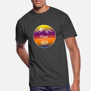 Pune Pune India - Men's 50/50 T-Shirt