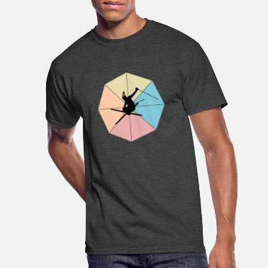 Skiing - Men's 50/50 T-Shirt