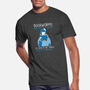 Bookworm Bookworms Will Rule The World - Men's 50/50 T-Shirt