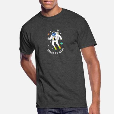 Neat Space Is Neat - Men's 50/50 T-Shirt