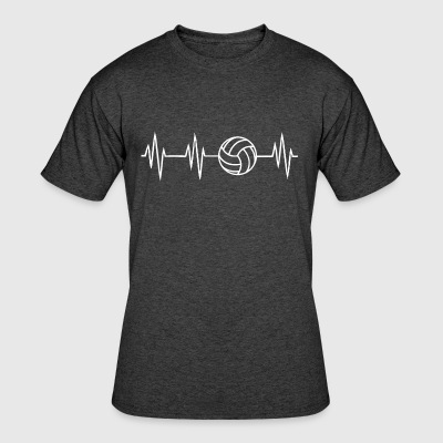 Volleyball Heartbit - Men's 50/50 T-Shirt