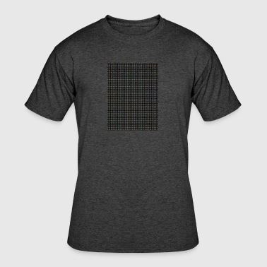 square grid - Men's 50/50 T-Shirt