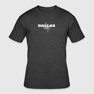 TEXAS DALLAS US STATE EDITION - Men's 50/50 T-Shirt
