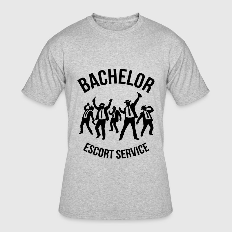 Bachelor Escort Service (Stag Party) - Men's 50/50 T-Shirt