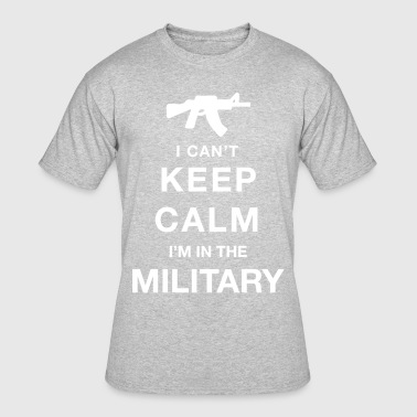 Keep calm military - Men's 50/50 T-Shirt