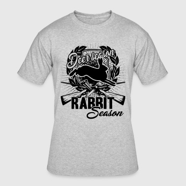 Deer Season Or Rabbit Season Shirt - Men's 50/50 T-Shirt