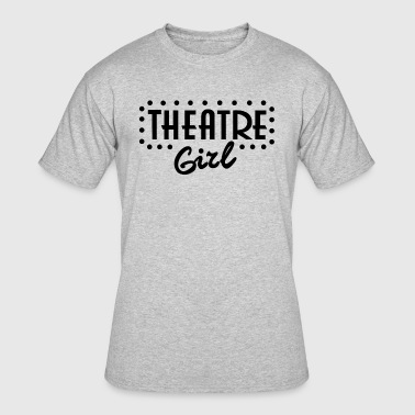 Theatre Girl - Men's 50/50 T-Shirt