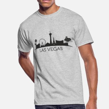 Las Las Vegas - Men's 50/50 T-Shirt