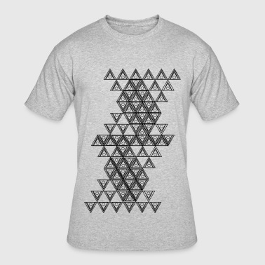 Triangle with circles - Men's 50/50 T-Shirt