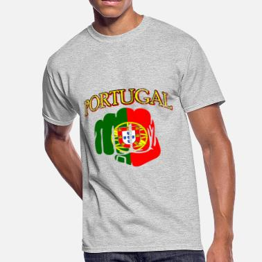 Handmade Nature portugal handmade flag gift tees - Men's 50/50 T-Shirt