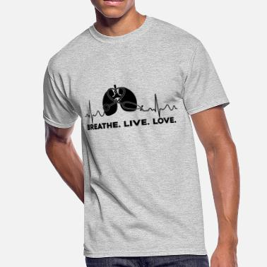 Love Therapy Love Respiratory Therapy Shirt - Men's 50/50 T-Shirt