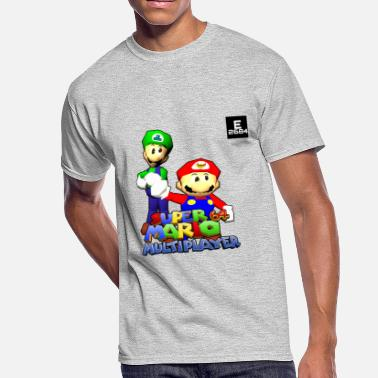 Brothers Super Mario 64 Multiplayer | Epicness & Arcani - Men's 50/50 T-Shirt