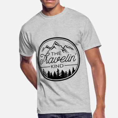 Kindness Is Cool The Travelin Kind - Men's 50/50 T-Shirt
