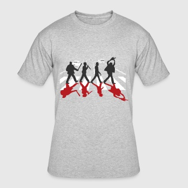 Horror Film Horror Stars on Abbey Road Killer Red Halloween - Men's 50/50 T-Shirt