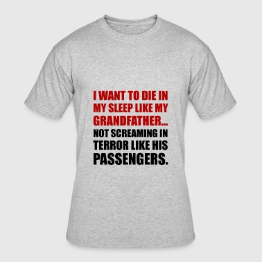 Die Sleep Grandfather - Men's 50/50 T-Shirt