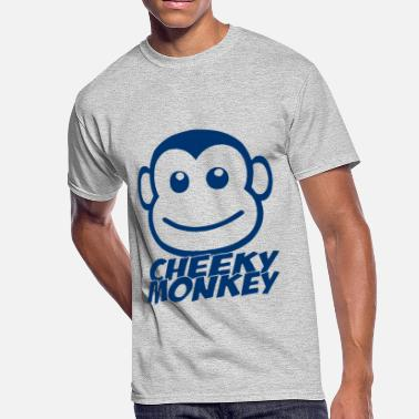 Cheeky Rascal CHEEKY MONKEY - Men's 50/50 T-Shirt