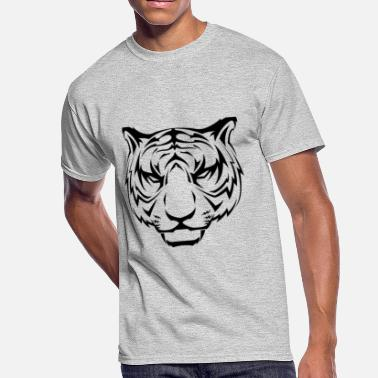 Bella Tiger - Men's 50/50 T-Shirt