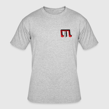 Red TP M - Men's 50/50 T-Shirt