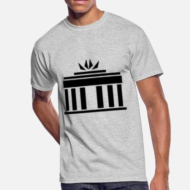Brandenburg Brandenburg Gate - Men's 50/50 T-Shirt