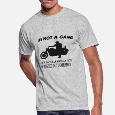 Motorcycle-gang its not a gang - Men's 50/50 T-Shirt