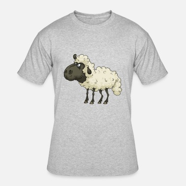 Sheep Comic Sheep - Men's 50/50 T-Shirt