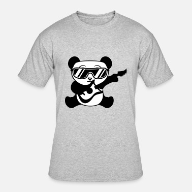 Bear Of Bandits band electric guitar cool sunglasses concert music - Men's 50/50 T-Shirt