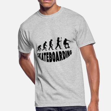 Skateboarding Evolution Skateboarding Evolution - Men's 50/50 T-Shirt