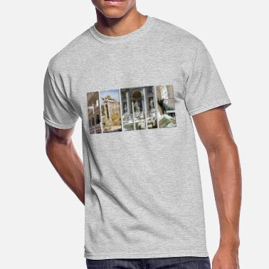 Ancient Rome The monuments of ancient Rome - Men's 50/50 T-Shirt