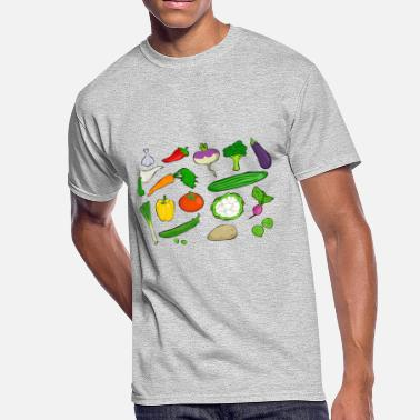 Vegetable vegetables - Men's 50/50 T-Shirt