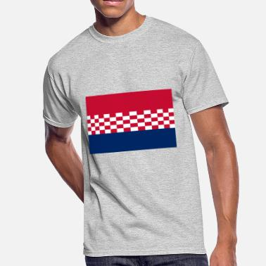 Usta flag croatia design - Men's 50/50 T-Shirt