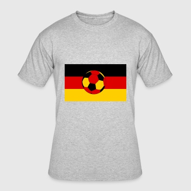Germany flag and german ball - Men's 50/50 T-Shirt