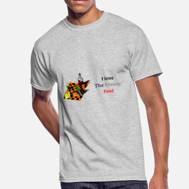 Gastronomy The French Food - Men's 50/50 T-Shirt