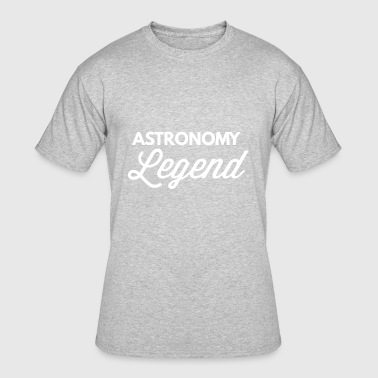 Astronomy Quotes Astronomy Legend - Men's 50/50 T-Shirt