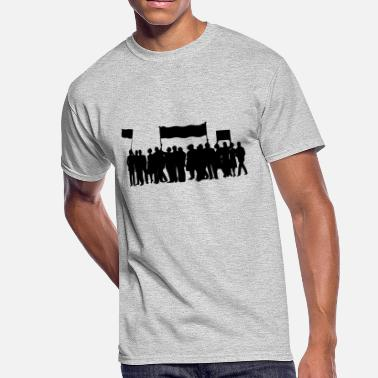 Protester protest - Men's 50/50 T-Shirt