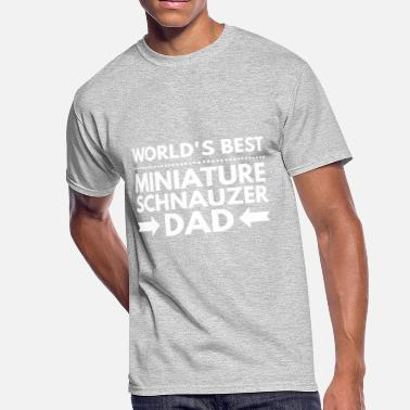 Mini Schnauzer Best Miniature Schnauzer - Men's 50/50 T-Shirt