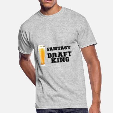 Fantasy Football Draft Draft Beer King - Fantasy Football - Men's 50/50 T-Shirt